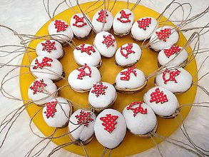 Dekorácie - Vianočné dekorácie - oriešky. - 10262562_