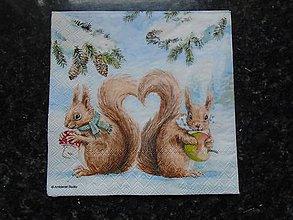 Papier - veveričky - 10261963_