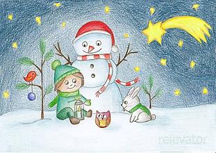 Kresby - Rozbaľovanie darčekov - 10261054_
