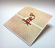 Papiernictvo - Pohľadnica ... Láska (po anglicky) - 10263897_
