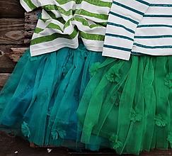 Detské oblečenie - tylová tyrkys(vel.122) - 10262954  eb136b444f5