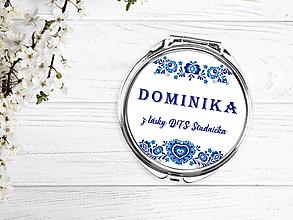 Zrkadielka - Zrkadielko folk modré - 10264478_
