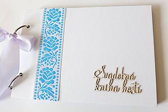 Papiernictvo - svadobná kniha hostí - 10262908_