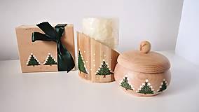 Dekorácie - Sada Vianočná stromčeky - 10264702_