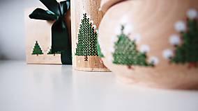 Dekorácie - Sada Vianočná stromčeky - 10264703_