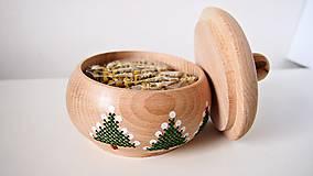 Dekorácie - Sada Vianočná stromčeky - 10264709_