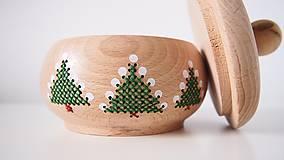 Dekorácie - Sada Vianočná stromčeky - 10264710_