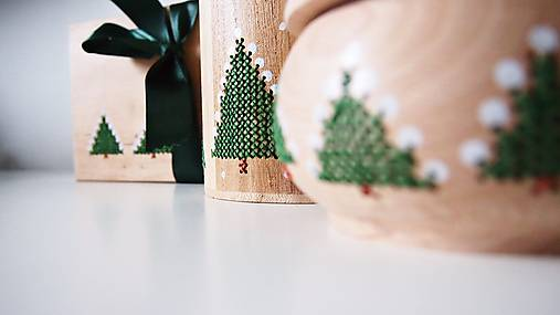 Sada Vianočná stromčeky