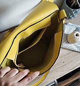 Batohy - Kožený batoh Lara (žltý) - nedostupný - 10263216_