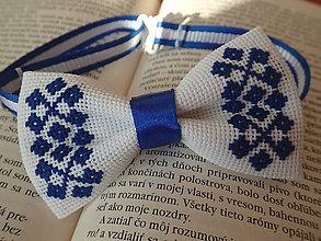 Iné doplnky - Motýlik Blueberry - 10264256_