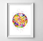 Grafika - Basketbalová lopta - 10263573_