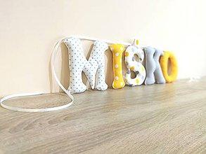 Textil - Textilné písmená - 10263308_