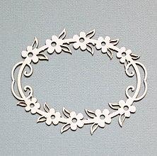 Polotovary - Výrez z lepenky - rámik - 10263062_