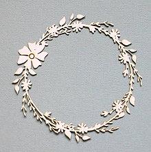 Polotovary - Výrez z lepenky - rámik - 10263064_