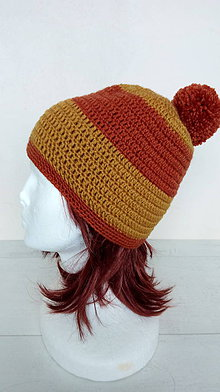 Čiapky - Dámska aj pánska vlnená čiapka s brmbolcom v.56-58cm - 10264187_
