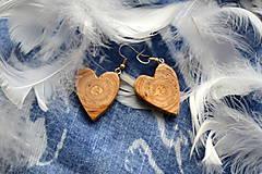 Náušnice - Náušnice - Srdce z Kaukazu - 10263986_