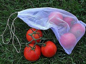 Nákupné tašky - Eko Zero Waste nákupné vrecúška. - 10264338_
