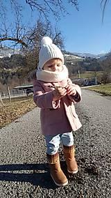 Detský okrúhly šál - nákrčník