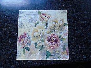Papier - ruže - 10263187_