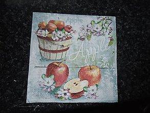 Papier - jablčka - 10263277_