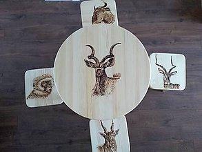 Nábytok - Stôl so stolcekmi - 10265775_