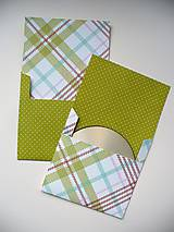 Papiernictvo - CD obal / 1pár - 10265374_