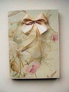 Krabičky - romantická krabička - 10265640_