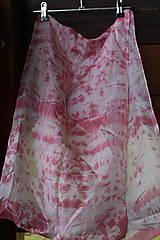 silk scarf_hodvábna šatka_colourful_pink_ružová