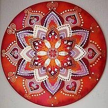 Dekorácie - Mandala...Šťastie v láske - 10264813_