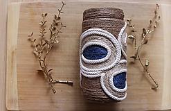 Dekorácie - Recyklované váza