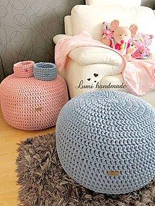 Úžitkový textil - Sedací vak /puf - 10265459_