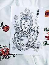 Print Johana Pohana-obrázok z originálu mojej autorskej kresby
