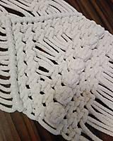 Úžitkový textil - Macrame obrus - 10265009_