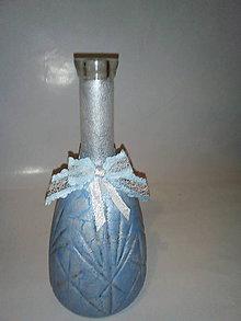 Nádoby - Karafa v modrom - 10265583_