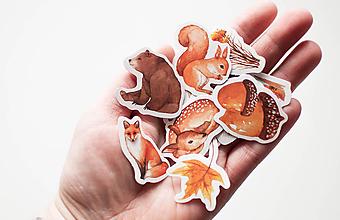 Papier - Lesné zvieratká I. - 10266251_