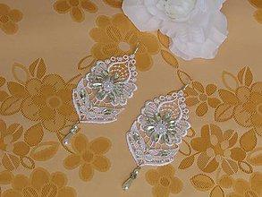 Náušnice - Svadobné náušnice V - 10264852_