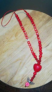 Iné šperky - Prívesok alebo amulet do auta  na želanie s textom menom alebo dátumom aj farebne podla vašeho priania - 10267724_