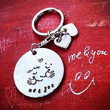 Kľúčenky - me&you - 10266480_
