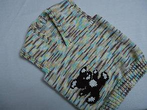Detské oblečenie - Vestička - maco 1 - 10267943_