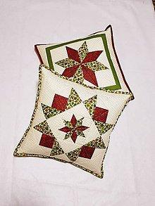 Úžitkový textil - Vankúšová obliečky vianočné - 10267766_