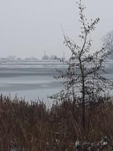 Fotografie - Zamrznuté jazero... - 10267859_