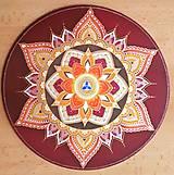 Dekorácie - Mandala Silnej ženy - 10267946_
