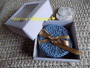 Úžitkový textil - EKO odličovacie tampóny - 10267474_