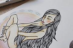Kresby - Esencia vzduchu - 10267497_