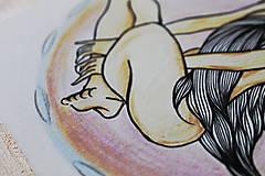 Kresby - Esencia vzduchu - 10267499_