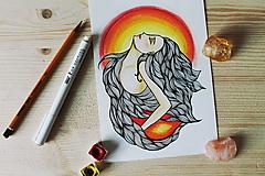 Kresby - Esencia ohňa - 10267509_