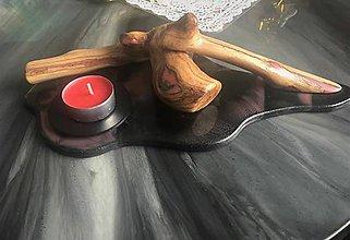 Svietidlá a sviečky - Svietnik v ružovej - 10266760_