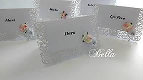 Papiernictvo - Menovky na stôl - 10267874_