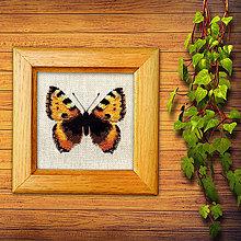 Obrázky - Vyšívané motýle (6) - 10267681_