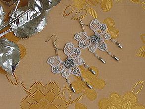 Náušnice - Svadobné náušnice VI - 10266630_